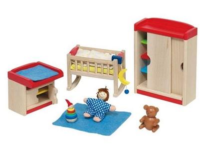 Billede af Dukkehus børneværelse