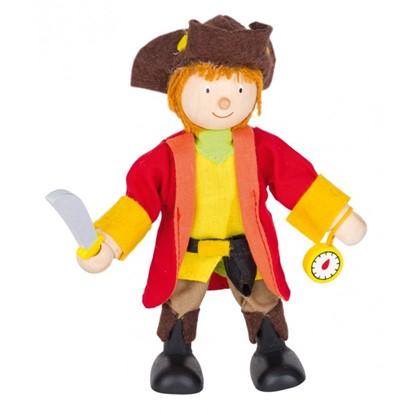 Billede af pirat, kaptajn