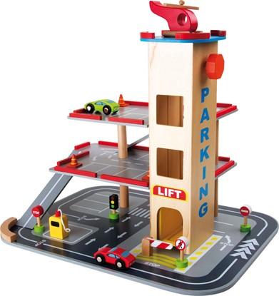 Billede af Stor parkeringshus